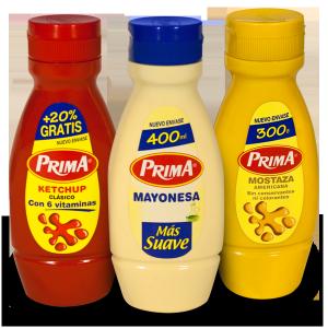 Prima KetchupMayonesaMostaza