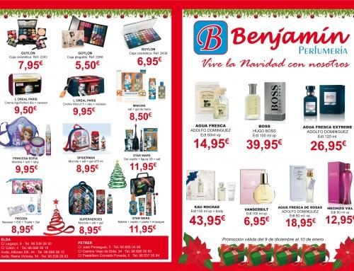 Esta Navidad confía en Benjamín