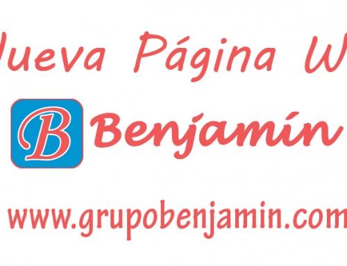 Nueva Web Grupo Benjamín